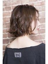 ミエル ヘア 新宿(miel hair)潤いゆるウェーブボブ♪【mielhair新宿】