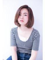 shiomi H 柔らかボブヘア【パーソナルカラーセミウェット】