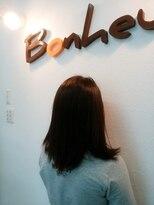 美容室 ボヌール【ボヌール】ツヤ感抜群のオーガニックカラー【オーガニック】