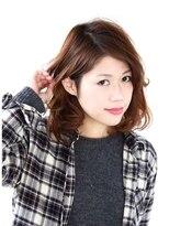 ティースタイル(hair salon t-style)うざバング/耳かけアレンジ