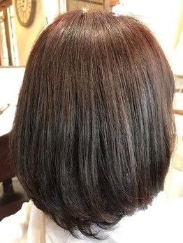 """ヘアルーム シュエッチュール(hair room chouetture)の写真/クセの改善だけでなく、""""クセ毛を生かす""""提案・カットが魅力◎貴女の魅力を最大限引き出します。"""