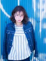 シャインヘアフラッペ 新百合ヶ丘2号店(Shine hair frappe)【新百合】丸みショート無造作カールボブディイルミナカラー 19