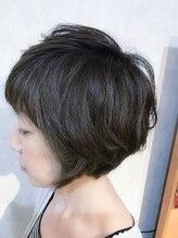 ヘアーサロンカルド(hair salon CALDO)春先オススメ パーマショート