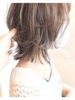 モッズヘア 仙台PARCO店(mod's hair)【奥山】ミルクティー×ミディアムウルフ♪