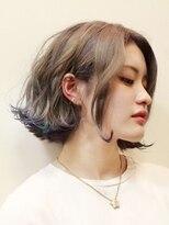 デコヘアー(DECO HAIR)外国人風カラーボブ+裾カラー