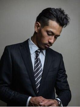 エニシ(ENISHI)の写真/ベテランスタイリストがマンツーマンで担当!ビジネスマンの「カッコイイ」を創り上げてくれる実力派サロン