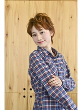 ヘアーメイク マヒナ(hair make mahina)【ヘアーメイクマヒナ☆】簡単かわいいフレンチショート♪