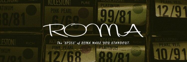 ロマ(ROMA)のサロンヘッダー