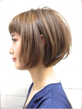 ヴィー 青山/表参道(VIE)の写真/[ショートヘア・ボブが本当に得意で上手い!]本当の似合わせカットであなたの魅力を引き出すヘアをご提案
