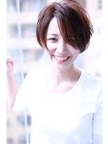 ノーバング小顔ショートヴァイオレット【Cloud zero】