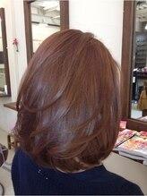 アンティム ヘアーデザイン(antime hair design)ナチュラル大人ボブ