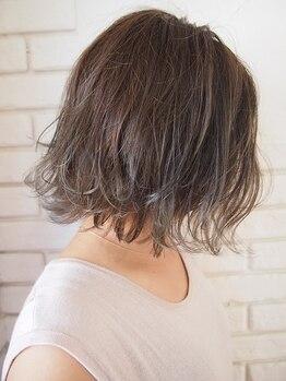 ヘアーアートスパミニマム(HAIR ART SPA MINIMUM)の写真/《もう定番♪透け感カラーで余裕女子に☆》イルミナカラー・アディクシーカラーでトレンドStyleを◎