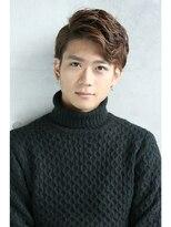 フェス カットアンドカラーズ(FESS cut&colors)【ツーブロック×七三】アップバングスタイル『FESS 鶴丸』