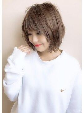 アグ ヘアー リル 志木店(Agu hair lilou)《Agu hair lilou》大人かわいい 小顔 ショートボブ サイド