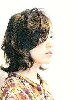 アエル(AER)の写真/【無料駐車場完備】バランスや毛流れを見極めた、スタイリングしやすい髪型に♪サロンクオリティが続く…☆
