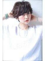 ロイジー(roijir)roijir☆石田朱乃☆セミウエット艶髪ショート03-6447-2205