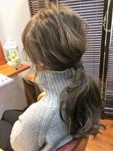 ロッソ ヘアデザイン(ROSSO hair design)外国人風カラー