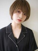 【ACA】ヌケ感ストレートヘアショート