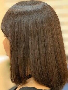 スローライフヘアーデザインアンドスパラウンジ(Slow life Hair design spa lounge)の写真/92%オーガニック由来の《ヴィラロドラカラー》グレイカラーも対応!ダメージレスでハリコシ,ツヤ感も◎