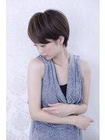 フォルテ ギンザ(FORTE GINZA)【FORTE銀座】キレイなシルエットのショートヘア