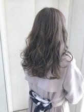 ヘアーデザイン シュシュ(hair design Chou Chou by Yone)☆chou chou☆透け感グレーパール♪