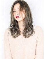 ヘアサロンガリカアオヤマ(hair salon Gallica aoyama)『 グレージュ & 毛束感 』外国人風 ☆ ゆるウエーブ スタイル♪