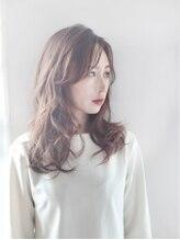 モッズ ヘア 二子玉川店(mod's hair)ラフなスタイリング、ミディアムスタイル