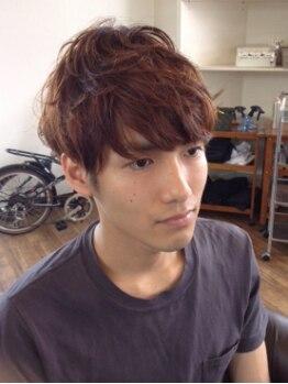 ダ ルッシュ ゼロワン オブヘアー(da RUSH 01 of hair)の写真/【男性に人気なサロン】自宅でのスタイリングのしやすさを第一に…ストレスフリーの髪型を提案致します♪