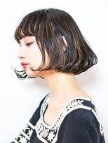エトネ ヘアーサロン 仙台駅前(eTONe hair salon)【eTONe】フレンチショートボブのサイドシルエット