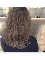 ガーデンヘアー(Garden hair)[松岡]バレイヤージュでつくる外国人風カラー