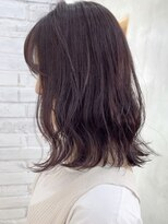 ロッジ 原宿店(RODGE)【nana】イルミナカラー チェリーレッド 髪質改善