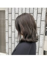 アルマヘアー(Alma hair by murasaki)ミディアムダークマットカラー