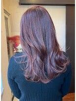 ナナナパレナ 心斎橋店(nanana parena)ブリーチなし大人可愛い艶髪ピンクベージュモテ髪愛されヘア