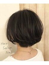 ヘアーサロンネイブ(Hair Salon Nab)大人、可愛く、ショートボブ