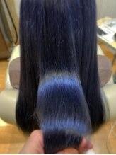 ラピッシュ 南三番町店(Lapish)〈ラピッシュ南三番町店〉ブルージュネビージュダブルカラー美髪
