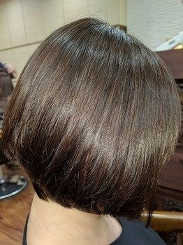 クリップ オン ヘア(CLIP on hair)の写真/お客様の髪の状態をしっかりカウンセリング。ベテランスタイリストがパサつきなどのダメージヘアを改善☆