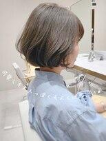 ビューティーコネクション ギンザ ヘアーサロン(Beauty Connection Ginza Hair salon) ことりベージュショートレイヤーコンマヘア20代30代40代◎田邊