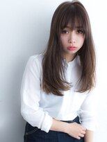 《K-two名古屋》[大人女性に]つやが際立つサラサラストレート