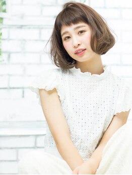 ヘアメイク ニコ(Hair make Nico)の写真/<シンプル可愛い女子>に人気♪カット+カラー8000円★トレンドカラー~個性に合わせたカラーまでお任せ♪