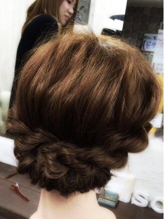 ヘアーアンドリラックス ソファ(hair&relax sofa)の写真/特別な日は特別な装いで-。結婚式などのイベントはもちろん、デートやちょっとしたお出かけにもおすすめ☆