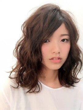ムクヘアー(MUKU HAIR)カジュアルウェーブボブ☆