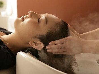 フィオーレ ヘアデザイン(FIORE hair design)の写真/本場バリのアロマクリームスパ【MAiBU】で極上のリラクゼーション体験!日頃の疲れを忘れる程の気持ちよさ…