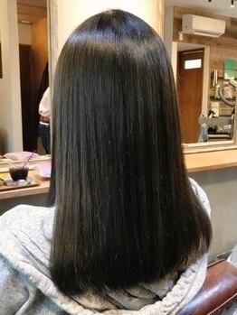 """クローバー(clover)の写真/ハリコシのある艶やかな髪をご体験下さい!特許技術で髪に大切な""""ケラチンタンパク質""""をしっかりと修復!"""