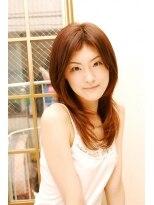 美容室 アンビー 新高円寺(envie)幸せカラーと潤いカールのフェミニンスタイル。