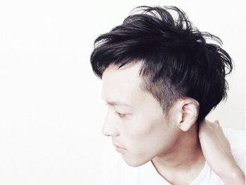 """エンジョイヘア アクシス(enjoy hair axis)の写真/《NEWFACE!徒歩3分&20時まで》カット+シェービング¥3564/カット+スパ¥4760!""""で男をアゲる""""身だしなみ!"""