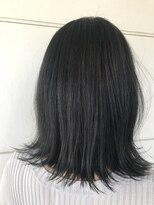 美容室 レア(lea)leaおすすめ☆ブラックサファイアアッシュカラー♪