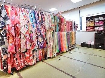 美月桜の写真/【狸小路5丁目内】《着付け/着付けレンタル》手ぶら来店OK!和装~西洋風など1000着以上の着物から選択可能♪