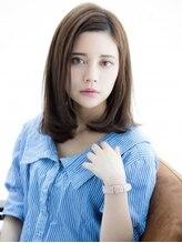 ルーチェ 綱島(Luce)似合わせカットの大人かわいいグレージュ耳かけ小顔ミディアム☆
