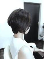 ヴィオレッタ ヘアアンドスペース(VIOLETTA hair&space)ショートカット×グレージュ×小顔フォルム[塚口美容室]
