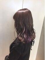 ヘアサロン ドット トウキョウ カラー 町田店(hair salon dot. tokyo color)【vivid violet】インナーカラーカラーリスト田中【町田】
